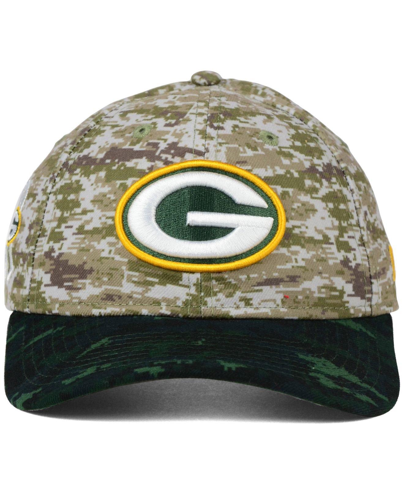f8c9d5f8d Lyst - KTZ Women s Green Bay Packers Salute To Service 9twenty Cap ...