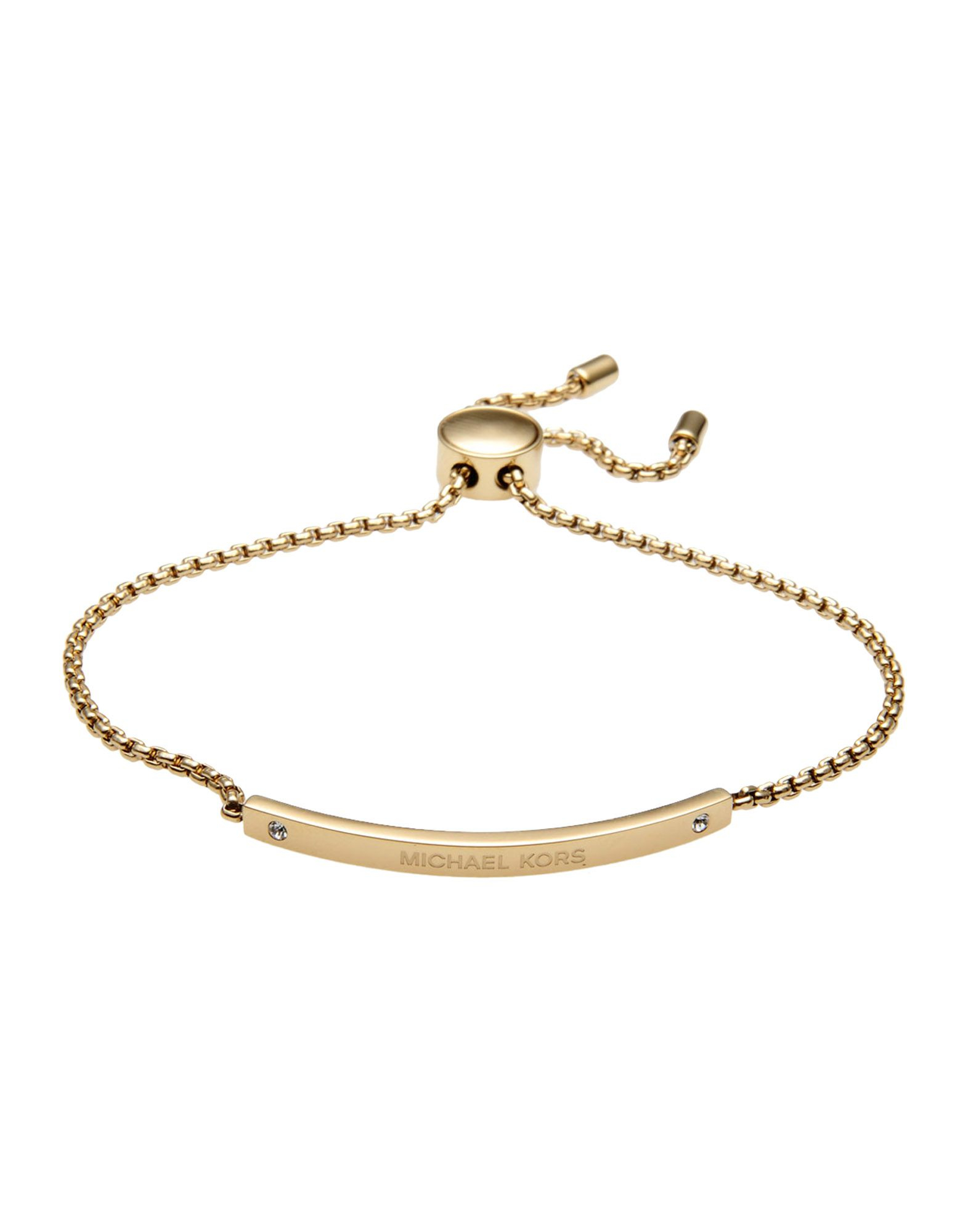 michael kors with bracelet michael kors bracelet in metallic lyst 4788