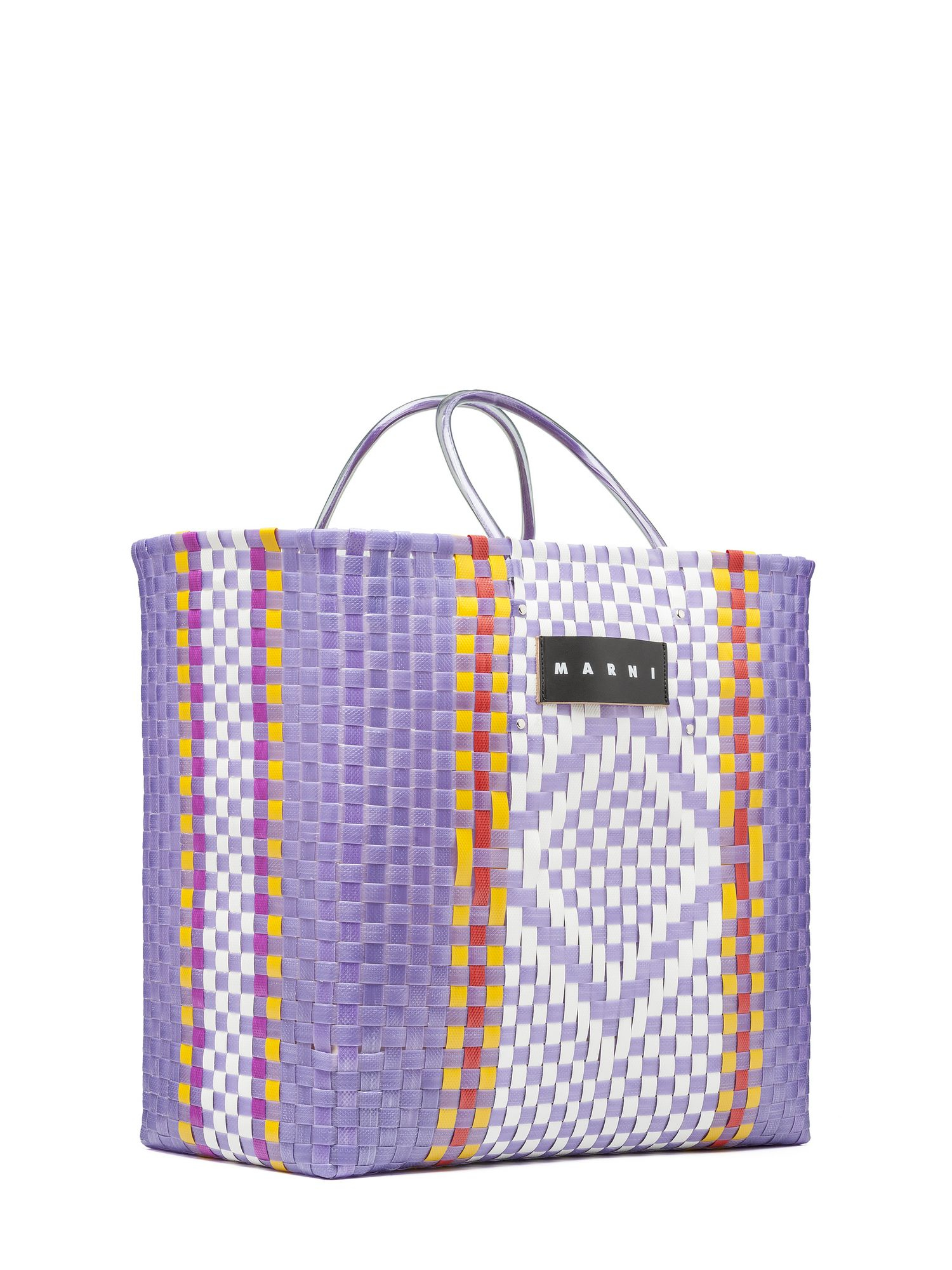 Marni Shopping Bag In Purple Lyst