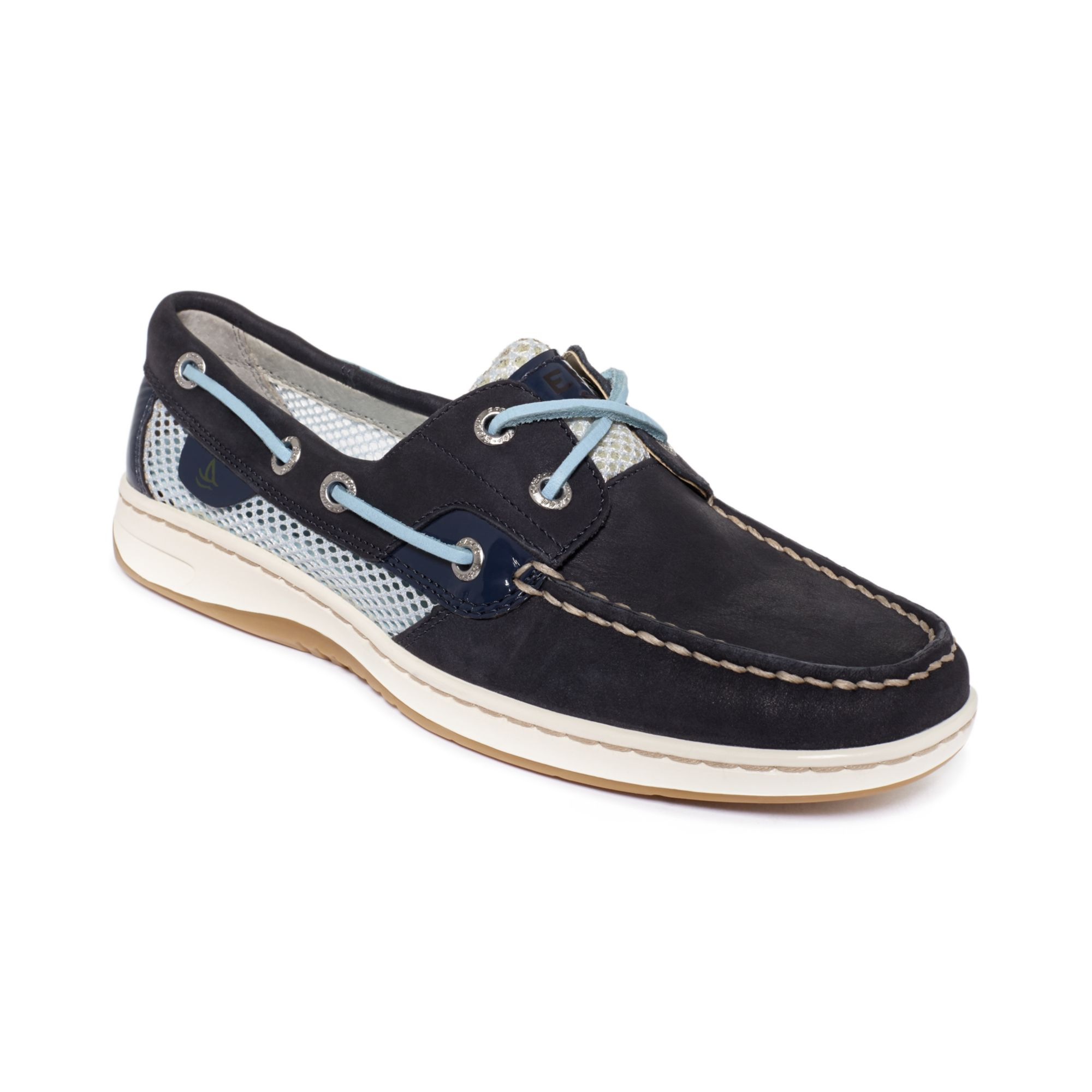 Blue Sperry Boat Shoes