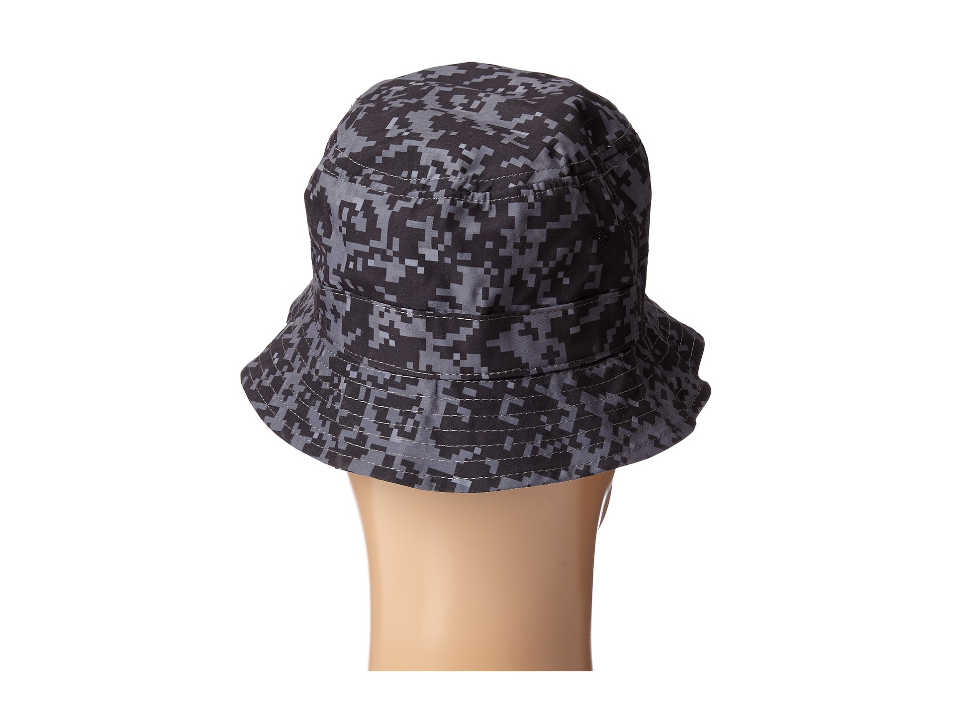 4793f872dc65d Lyst - Crooks and Castles Digi Camo Woven Reversible Bucket Hat in ...