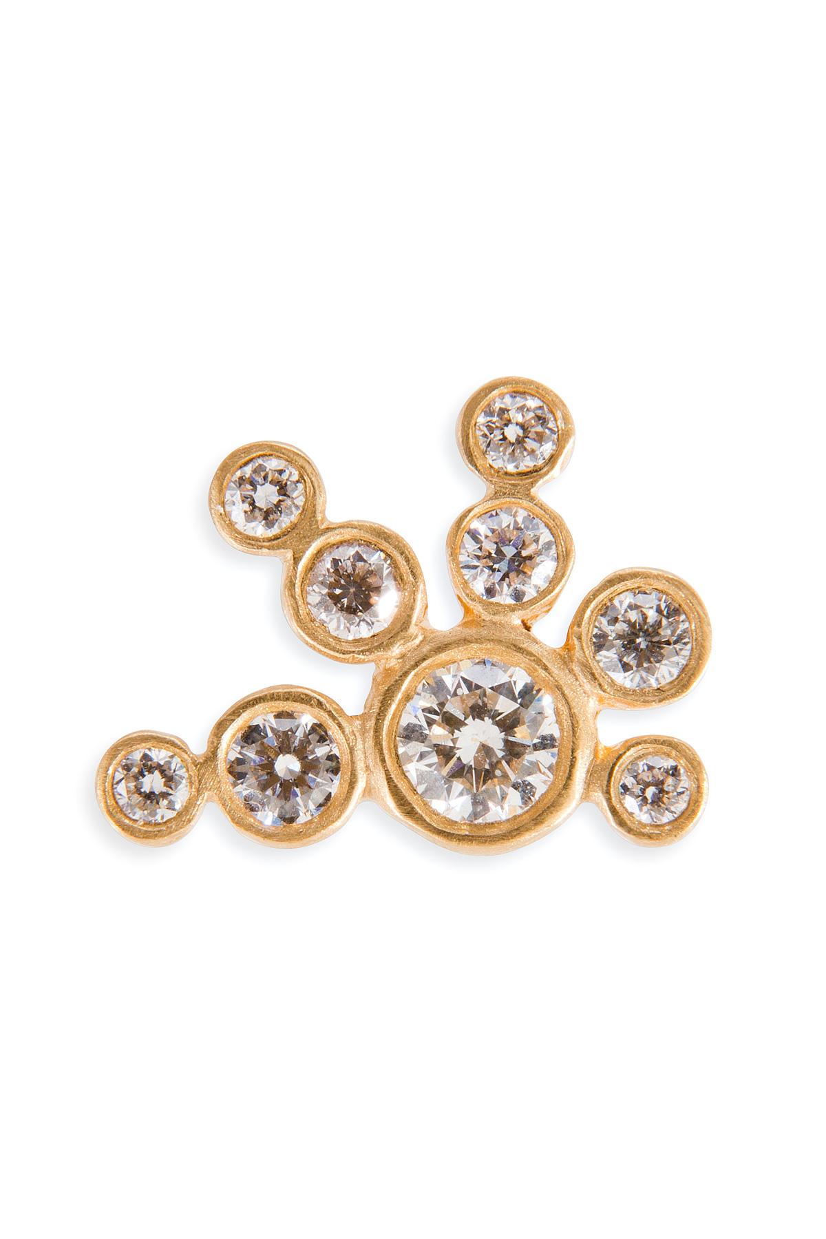 Sophie Bille Brahe 18kt gold earring with diamonds 8oTtxA7