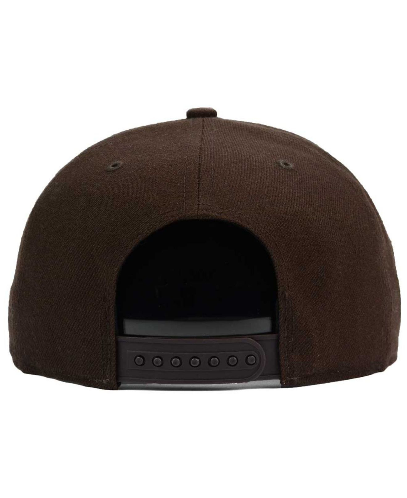 bcebbbd3bdf ... new arrivals lyst 47 brand cleveland cavaliers sure shot snapback cap  in brown dc8bc 441d5