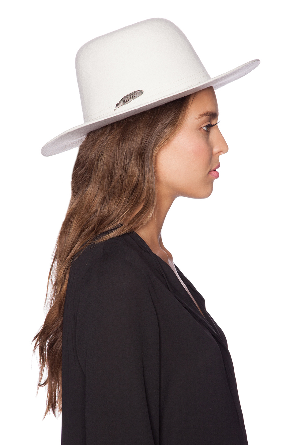 baa0d66a609d0 Brixton Molly Hat in White - Lyst
