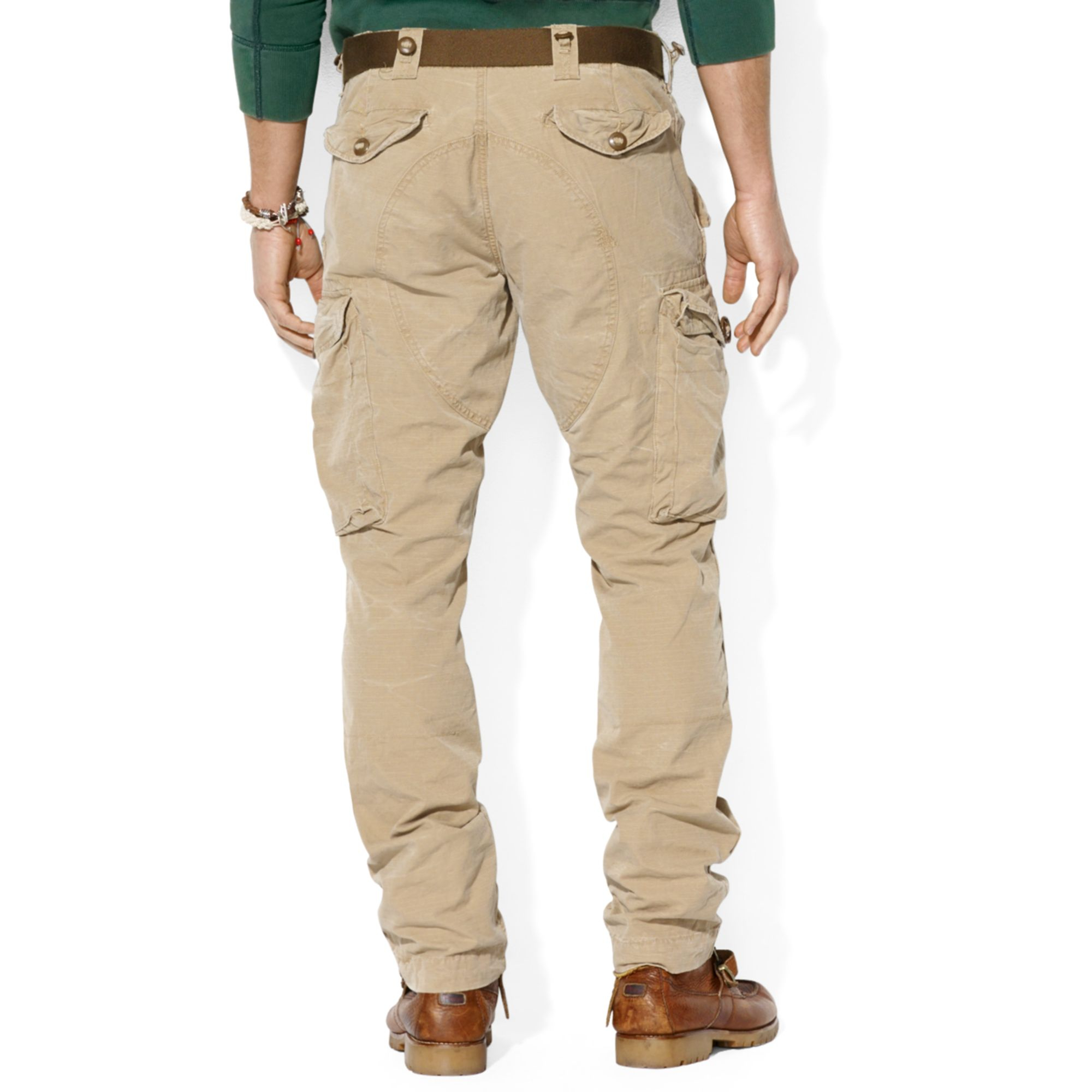 Ralph lauren Polo Straight Fit Canadian Ripstop Cargo Pants in ...