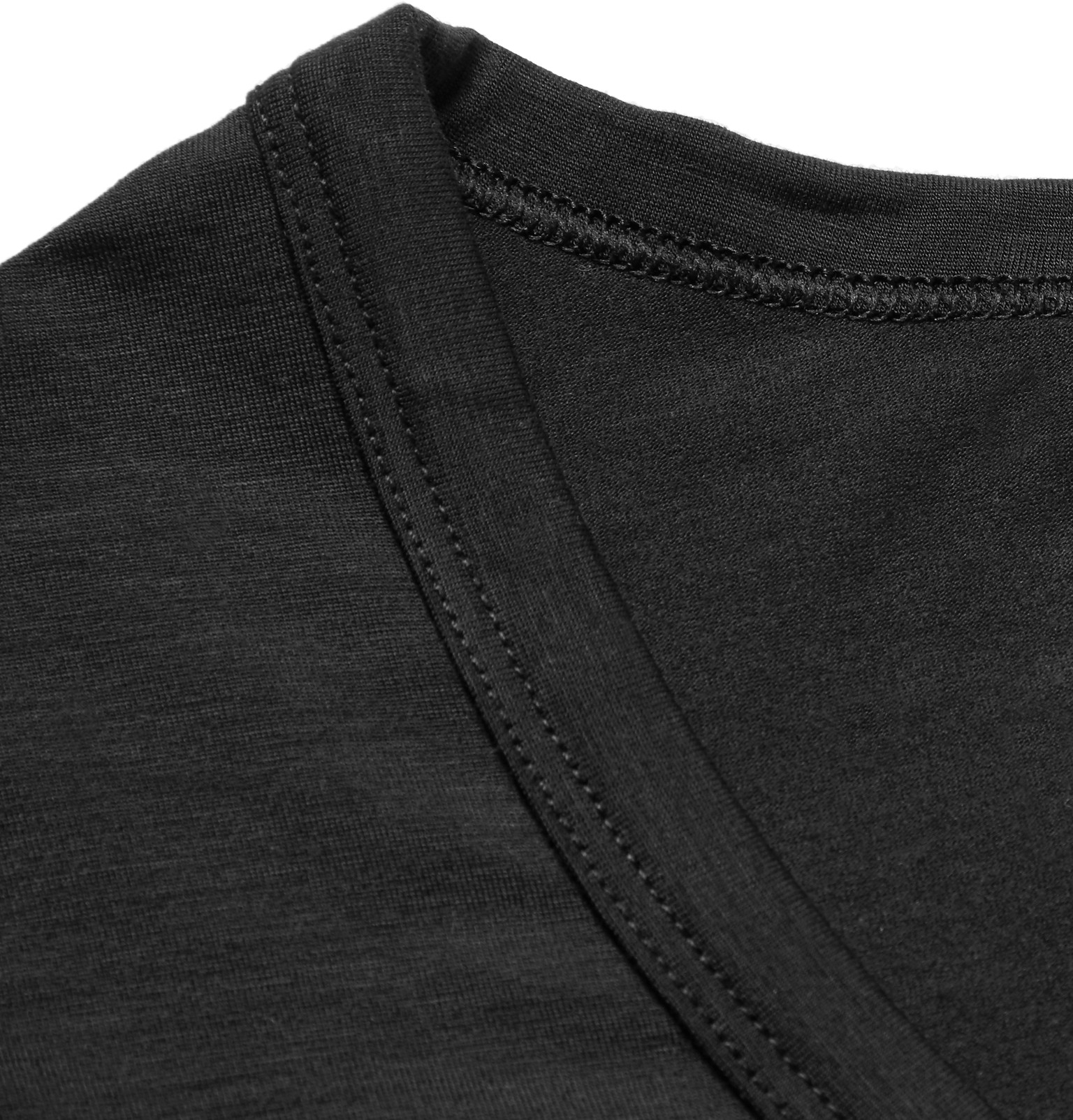 9bd0430fd4580 BOSS Modal And Seacell™-blend Tank Top in Black for Men - Lyst