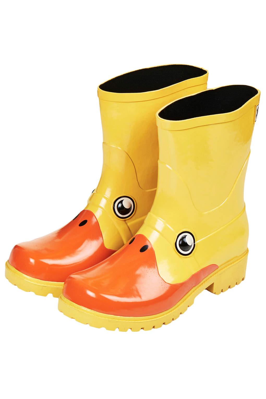 Lyst Topshop Kigu Duck Wellies In Yellow