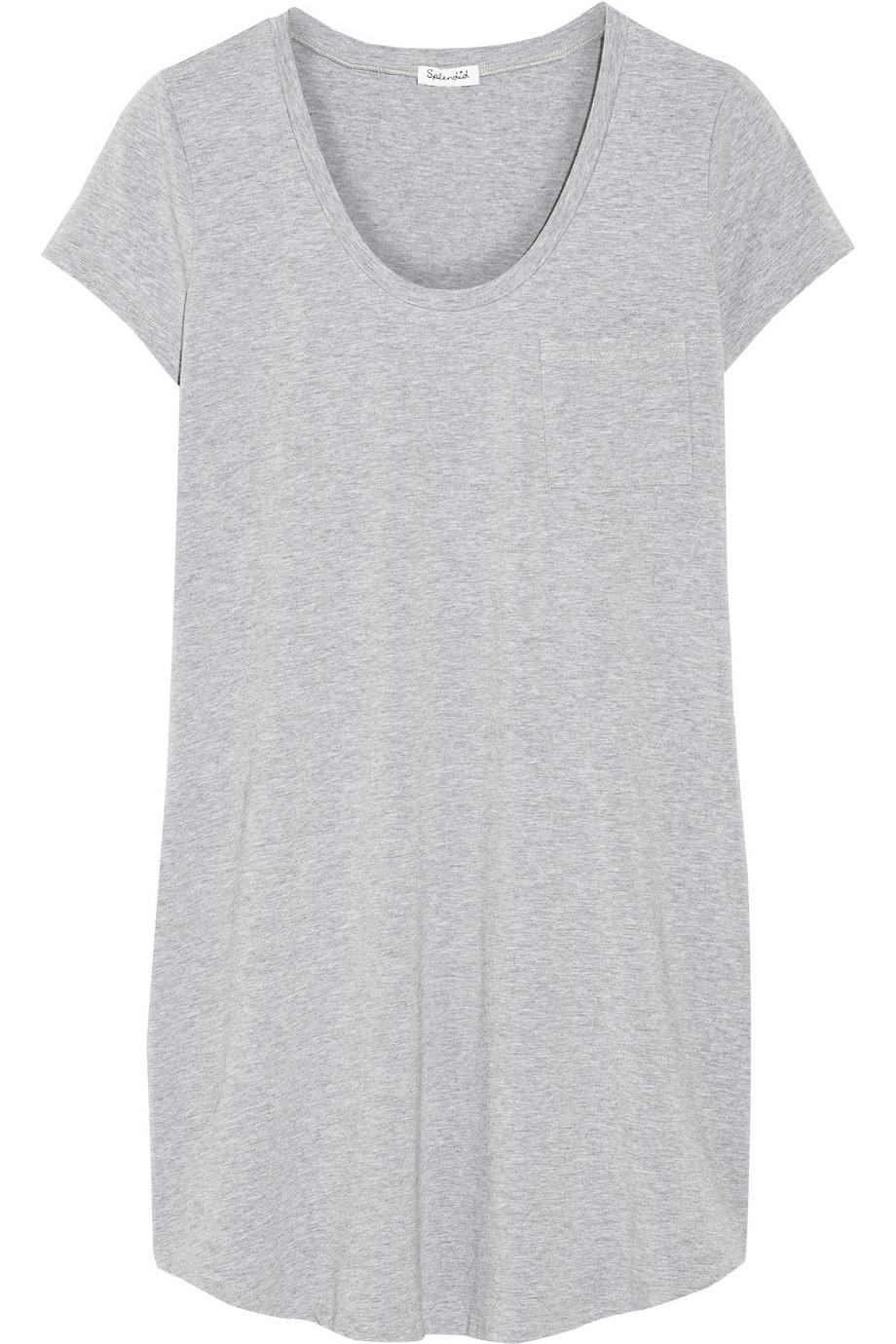 Splendid Stretch Supima Cotton And Modal Blend T Shirt