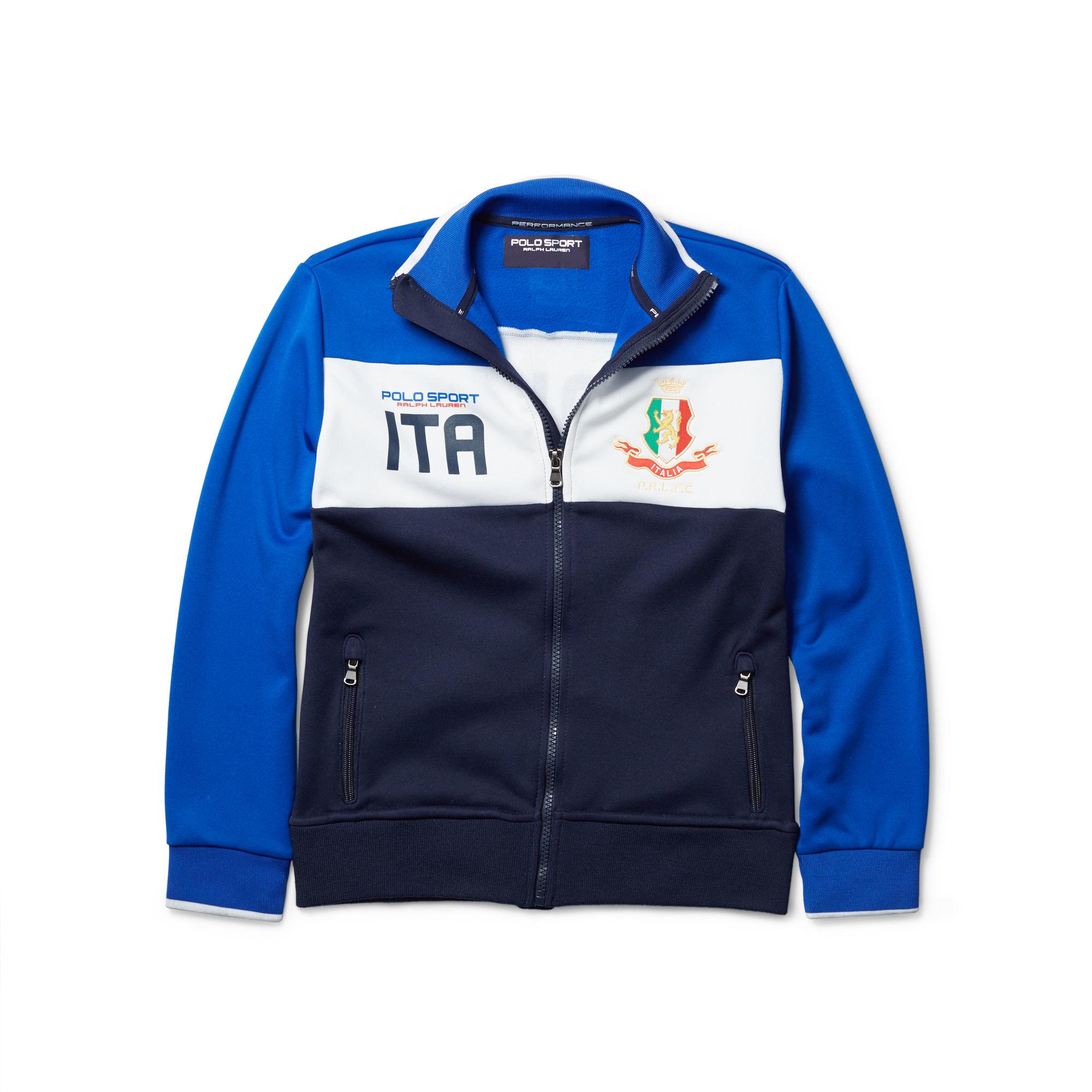 Ralph Lauren Italy Track Jacket For Men Lyst