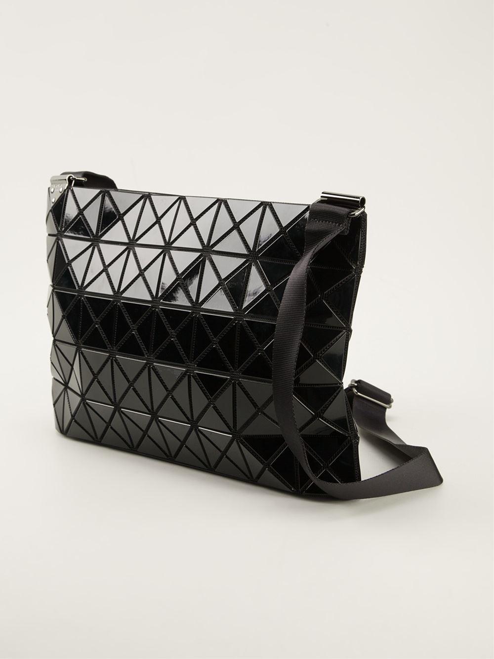 Lyst - Bao Bao Issey Miyake  Prism  Cross Body Bag in Black 6b922009d6003