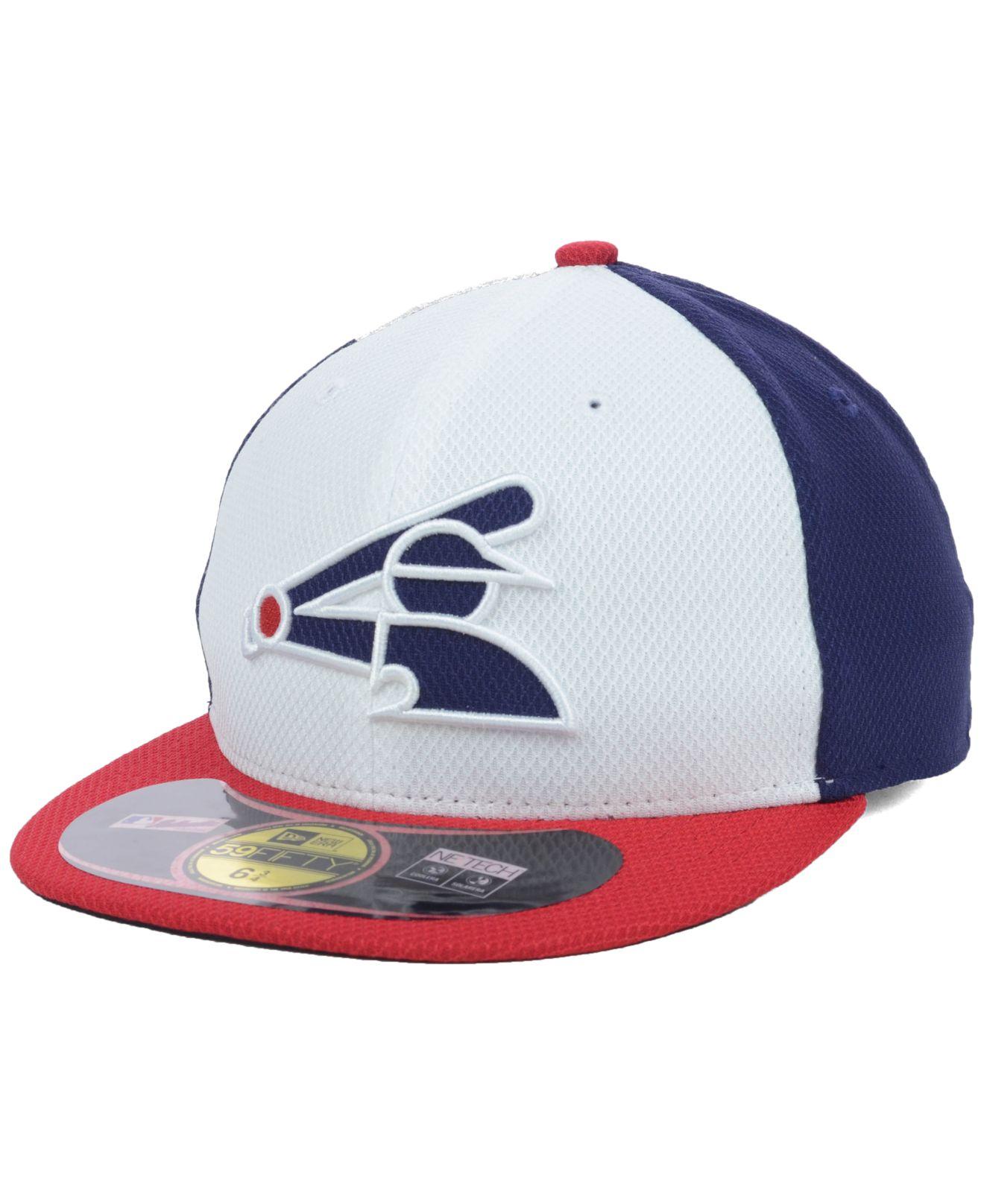 sports shoes 4edec 69a09 KTZ Kids  Chicago White Sox Mlb Diamond Era 59fifty Cap in Blue for ...