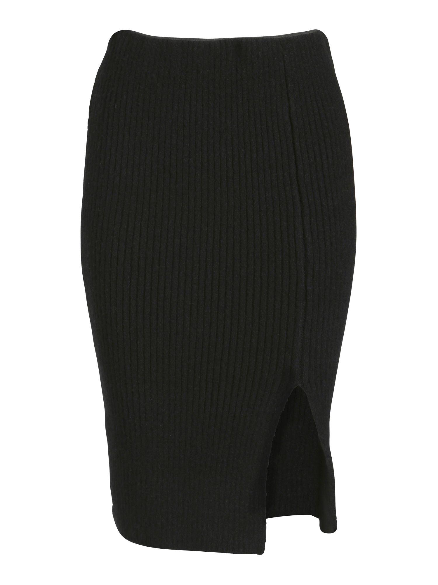 cutie knee length pencil skirt in black lyst