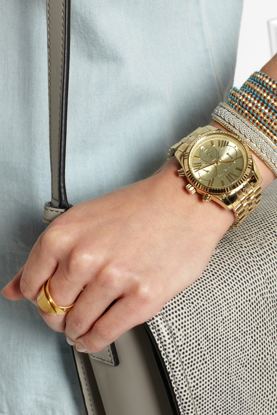 bce5986f06b8 Gallery. Previously sold at: NET-A-PORTER · Women's Gold Watches Women's Michael  Kors Lexington