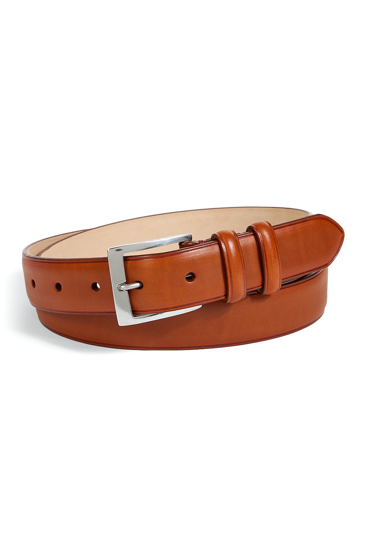 paul smith leather classic suit belt in brown for lyst