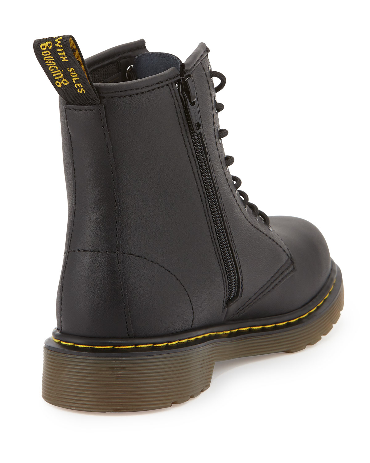 Lyst Dr Martens Delaney Matte Leather Military Boots In