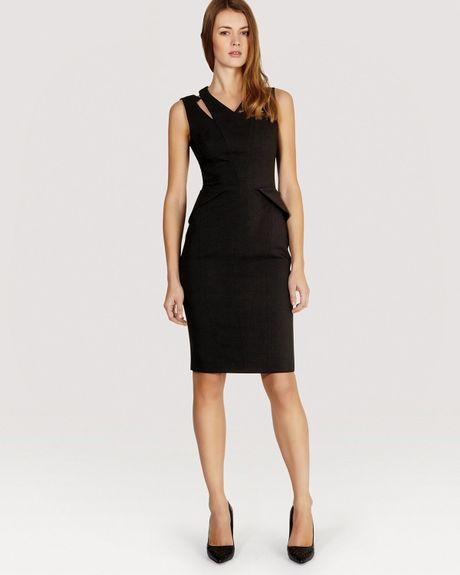 Karen Millen Ultimate Tuxedo Suit Dress In Black Lyst