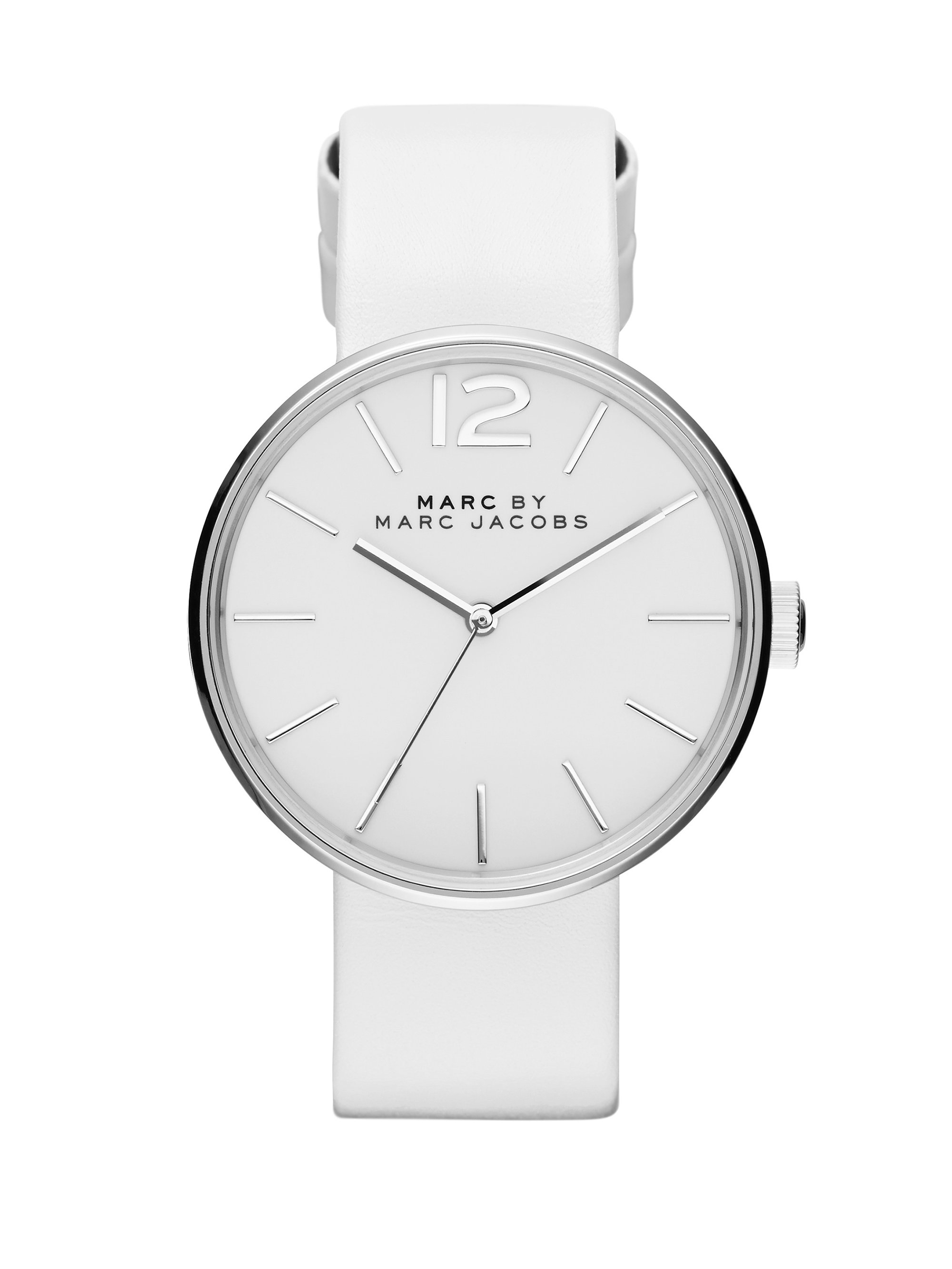 front watch ladies leather with white braun strap watches classic