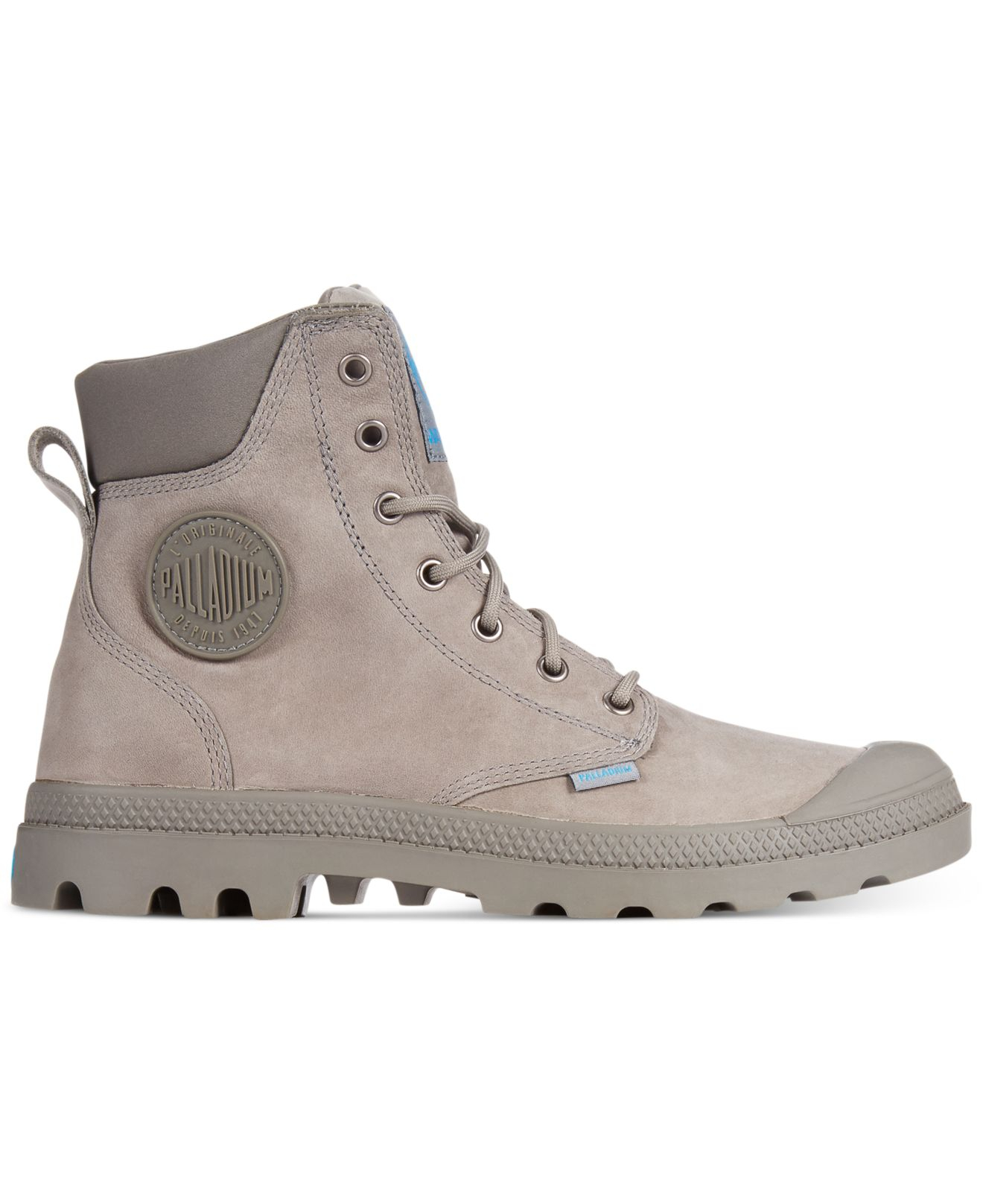 Lyst Palladium Pampa Cuff Wp Lux Boots In Green For Men