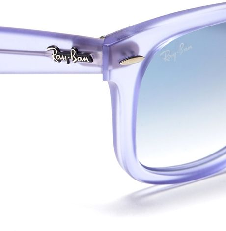 566f97d41f Ray Ban Wayfarer Ice Pop Purple « Heritage Malta