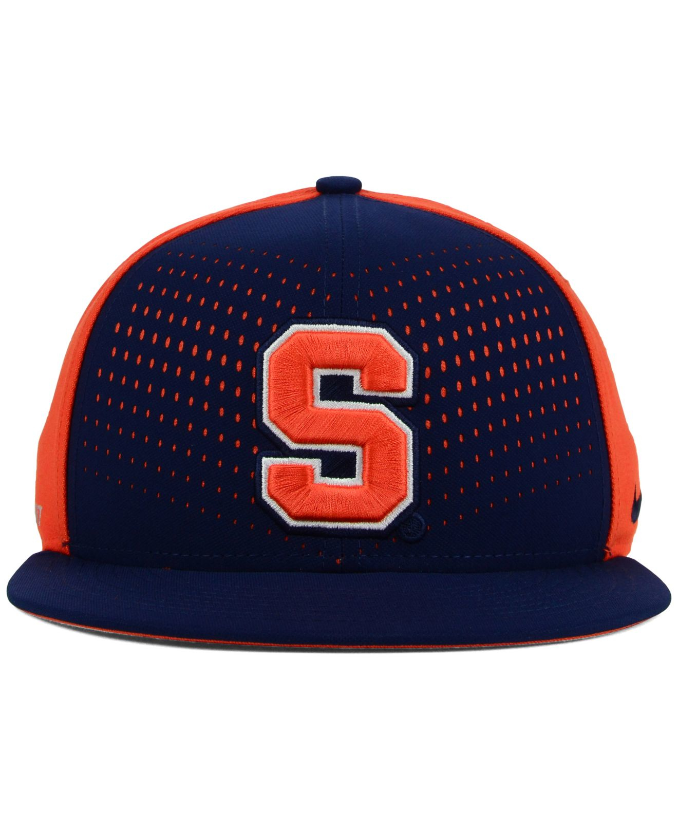 5de3b87c3c4b5 norway nike syracuse dri fit hat 3bc3d ee0e7  switzerland lyst nike  syracuse orange true seasonal snapback cap in blue for men da8c2 e1d6a