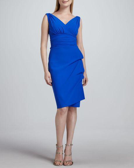 Cocktail dresses cobalt blue prom dresses cheap