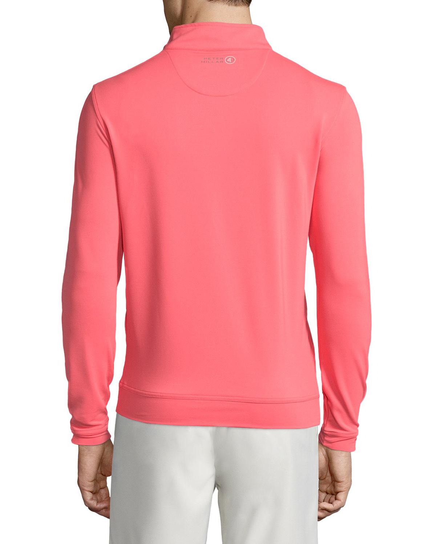 Peter millar Perth Performance E4 Quarter-zip Stretch Sweater in ...