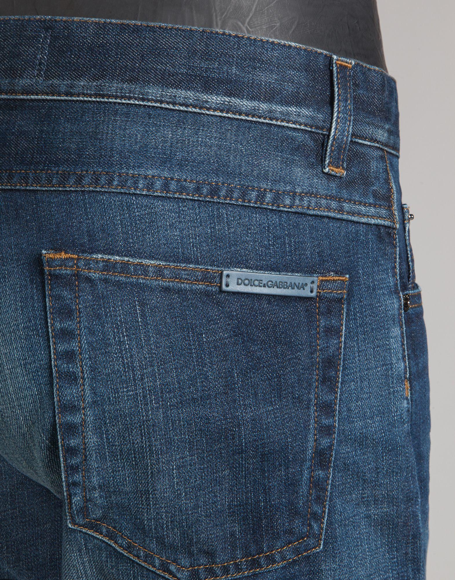 classic jeans - Blue Dolce & Gabbana yGXd559