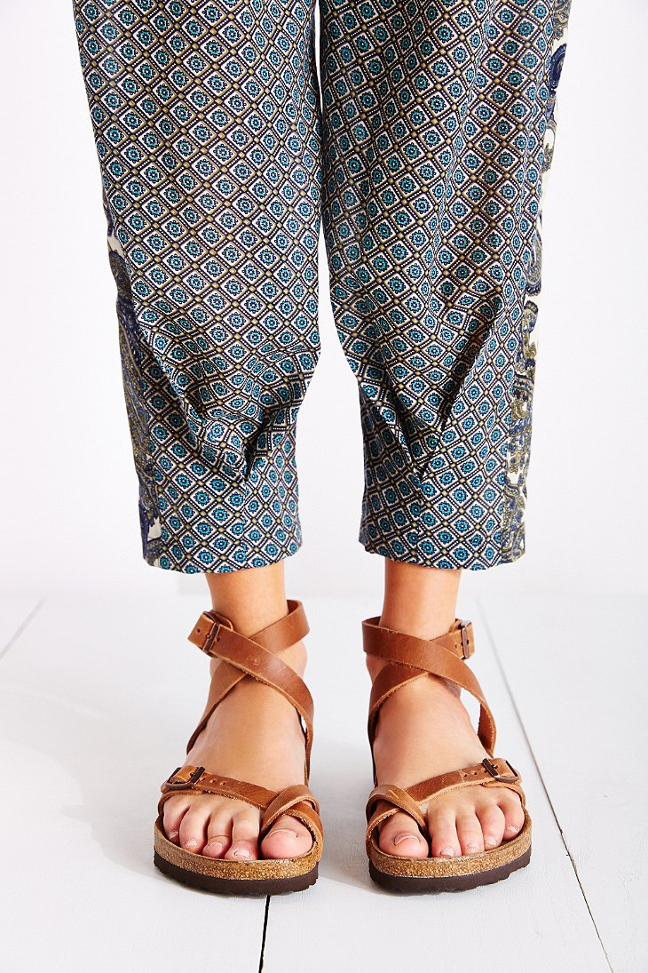 b9398a9705 Lyst - Birkenstock Yara Sandal in Brown