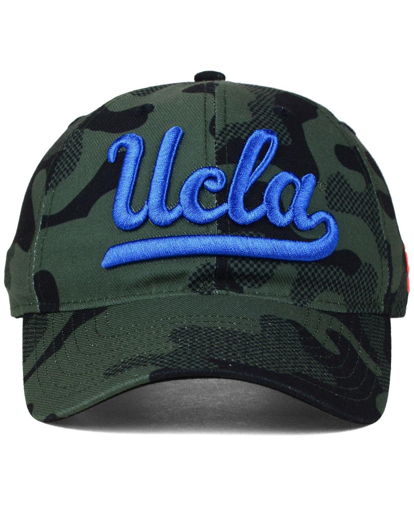 9602b1d3c9f63 ... uk lyst adidas ucla bruins veterans day camo slouch adjustable cap in  027c1 16d94