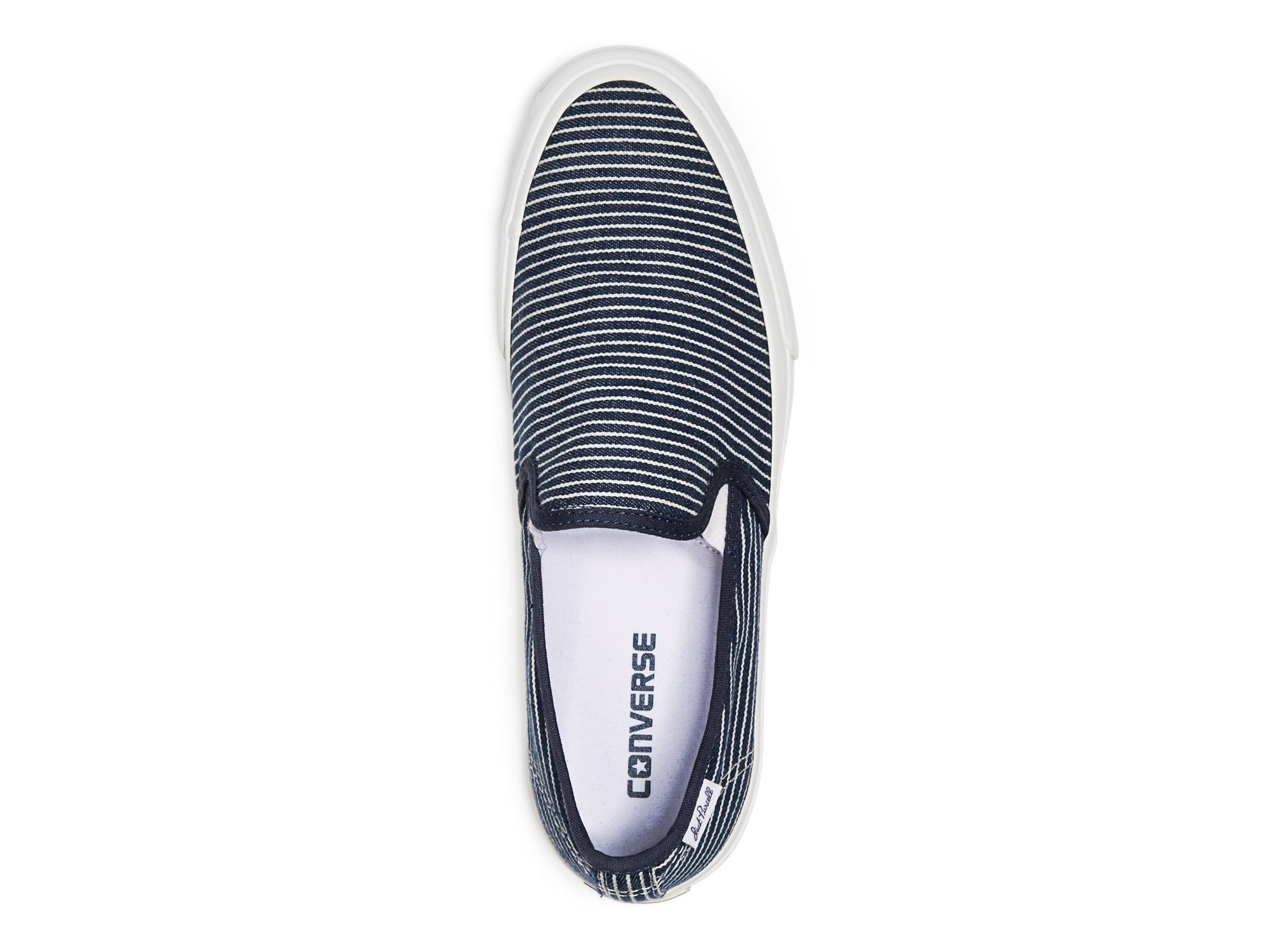 69fece8550d2b8 Converse Jack Purcell Ii Striped Slip On Sneakers in Blue for Men - Lyst