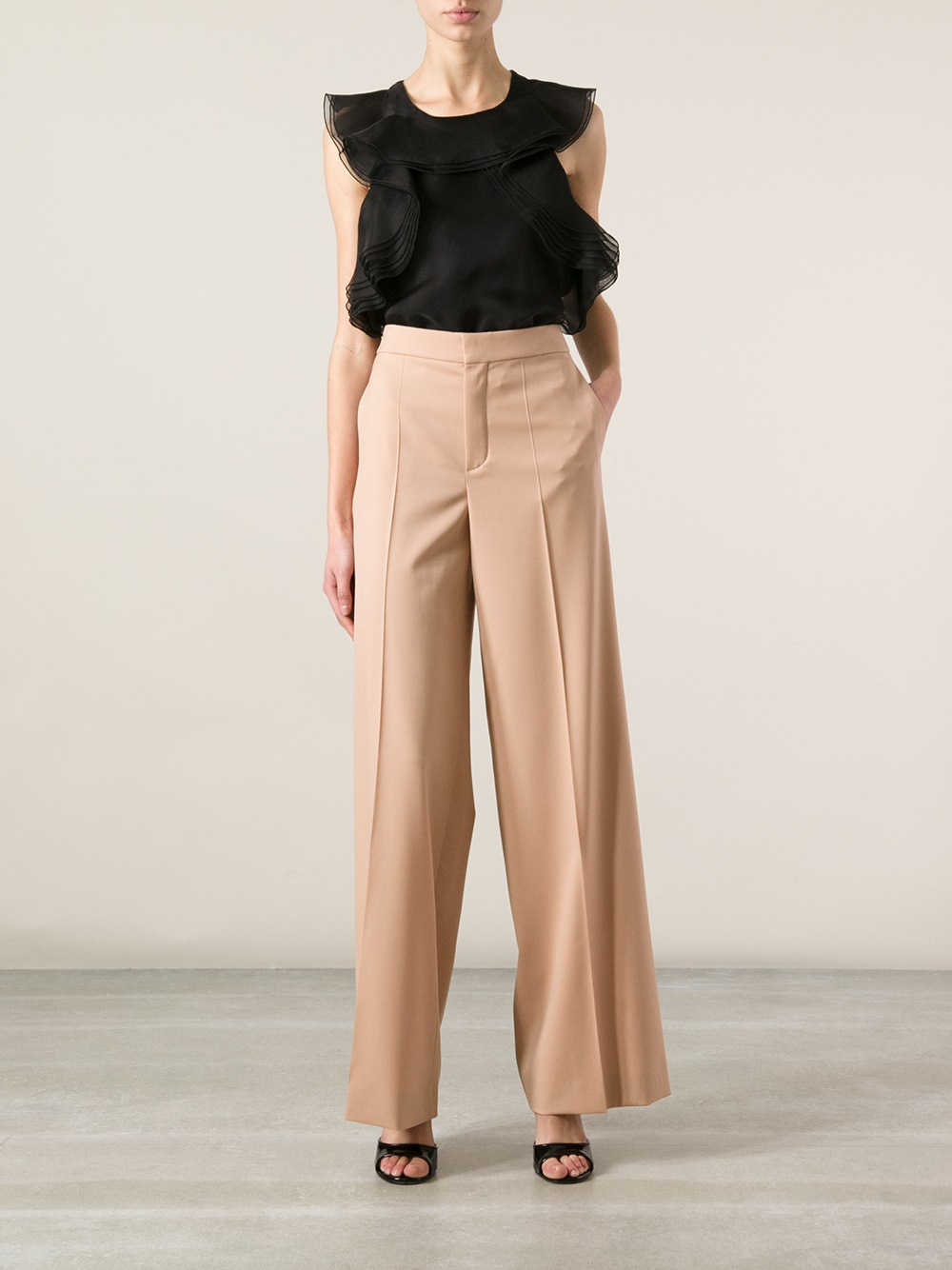 Wide-legged trousers Chloé sT6J9UFo