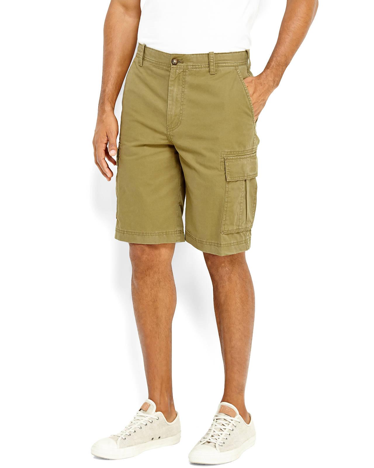 Izod Cargo Shorts In Green For Men Olive Lyst