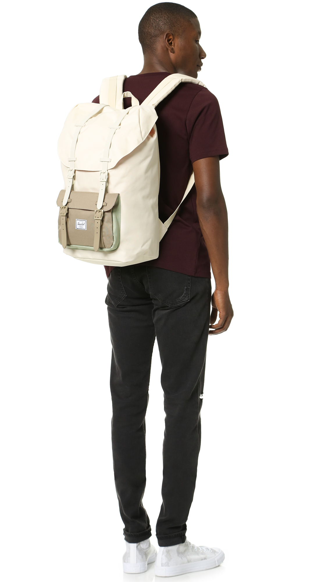 8d83db1c7e4 Lyst - Herschel Supply Co. Little America Backpack in Black for Men