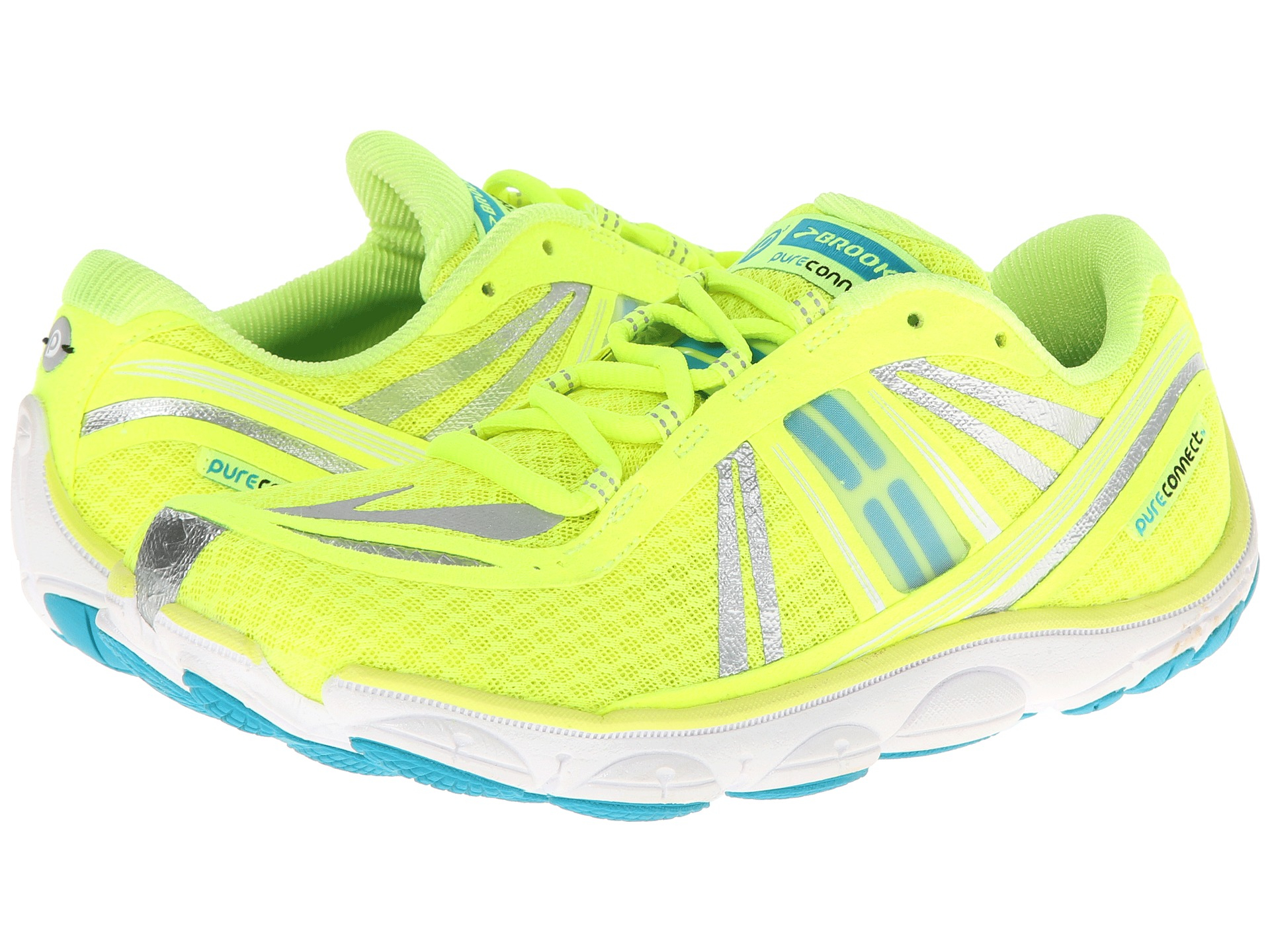outlet store 9265f 016de Brooks Pureconnect 3 in Yellow - Lyst