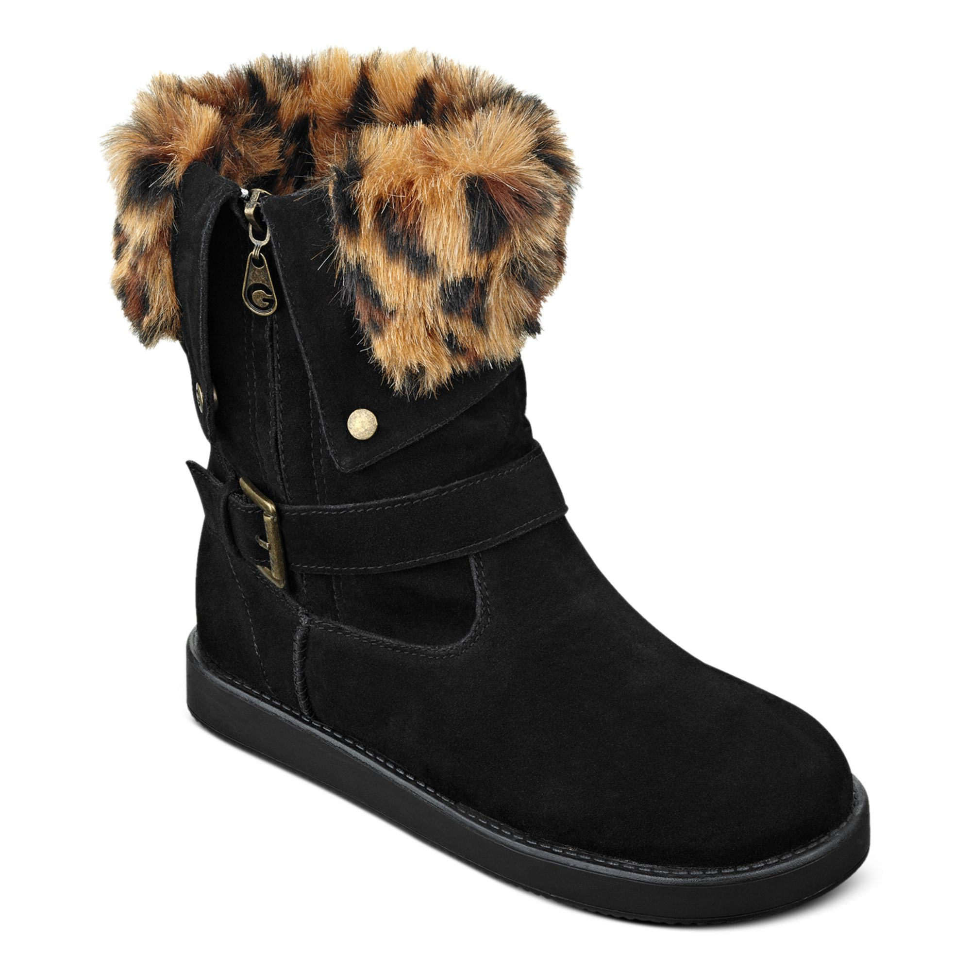 Lyst G By Guess Womens Boots Amaze Fauxfur Cold Weather