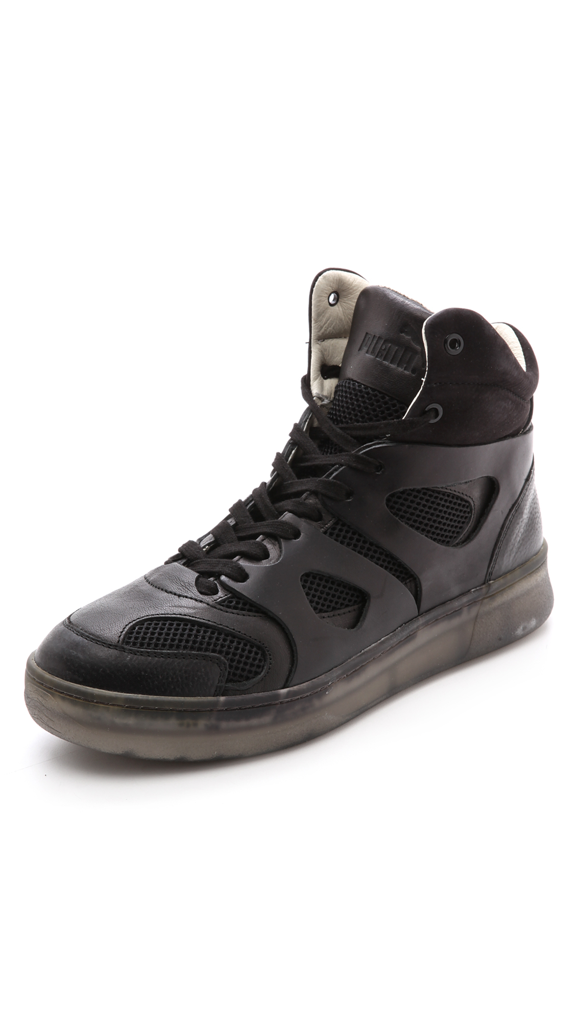 Lyst - Alexander Mcqueen X Puma Move Sneakers in Black for Men