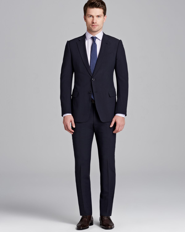 Armani Giorgio Notch Lapel Suit - Regular Fit in Blue for ... Giorgio Armani Jacket
