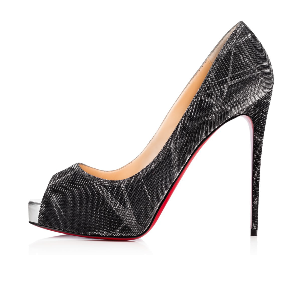 christian louboutin mens trainers - Christian louboutin New Very Prive Tissu Etincelle/ Specchio in ...