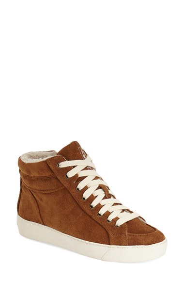 da8a99ac7cbcc Lyst - Sam Edelman Britt High-Top Sneakers in Brown