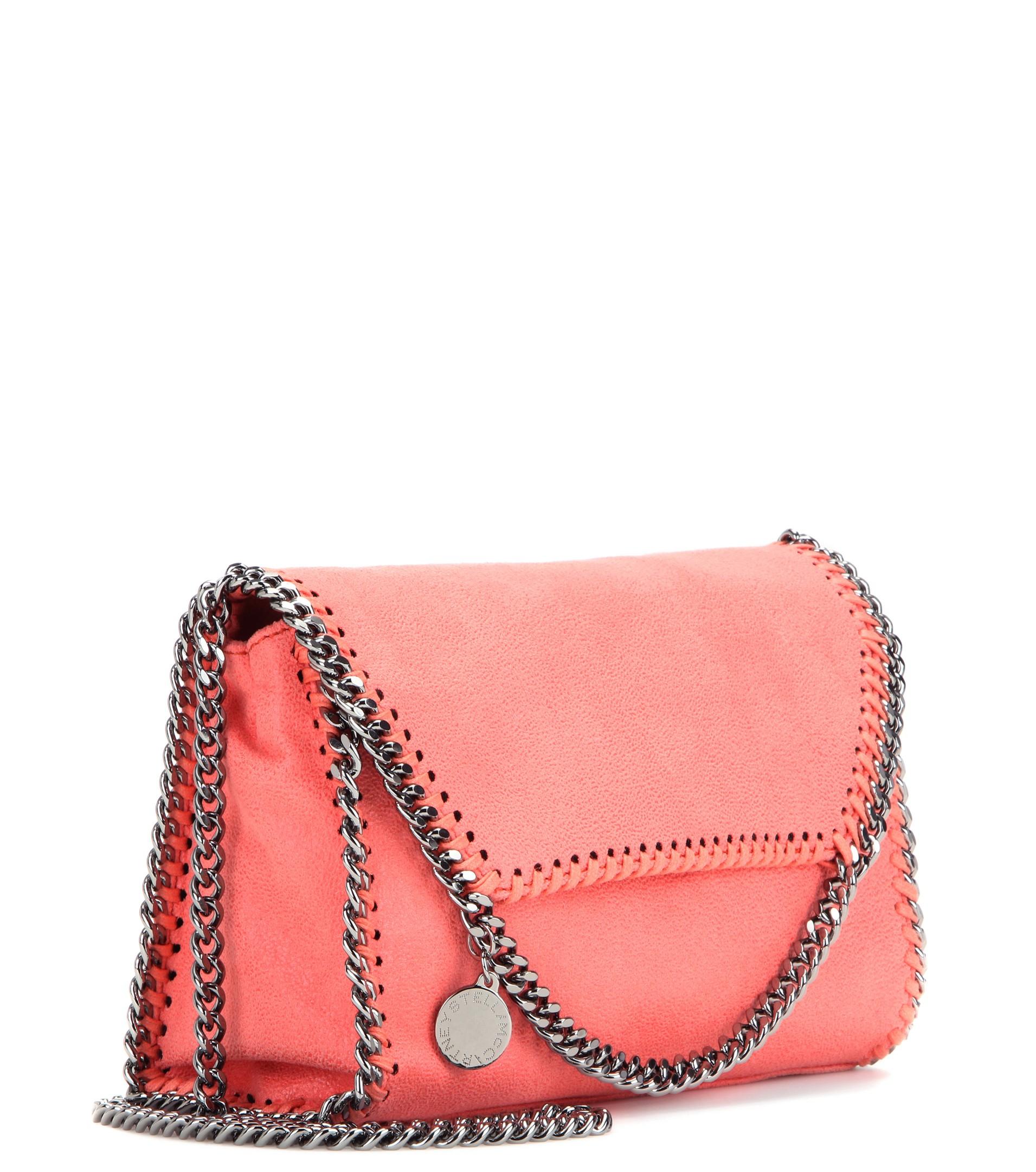 Stella McCartney Coral Pink Falabella Medium shoulder bag Online Cheap Online Discount Very Cheap Shop Offer SikHBKpwt