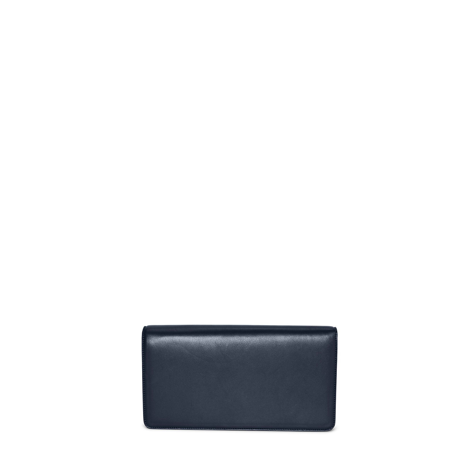 1c680f36eb Lyst - Pink Pony Navy Lambskin Rl Clutch in Blue