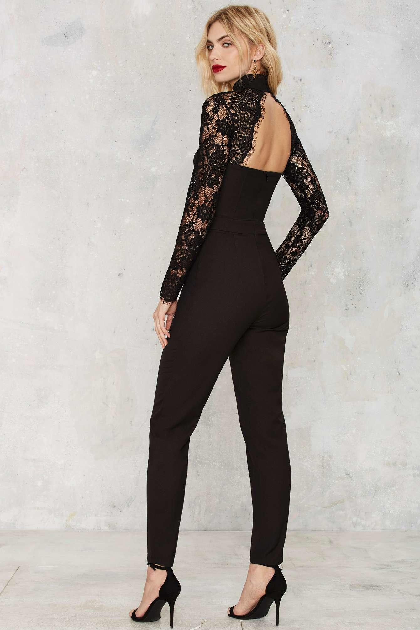 Lace Jumpsuit | Gommap Blog