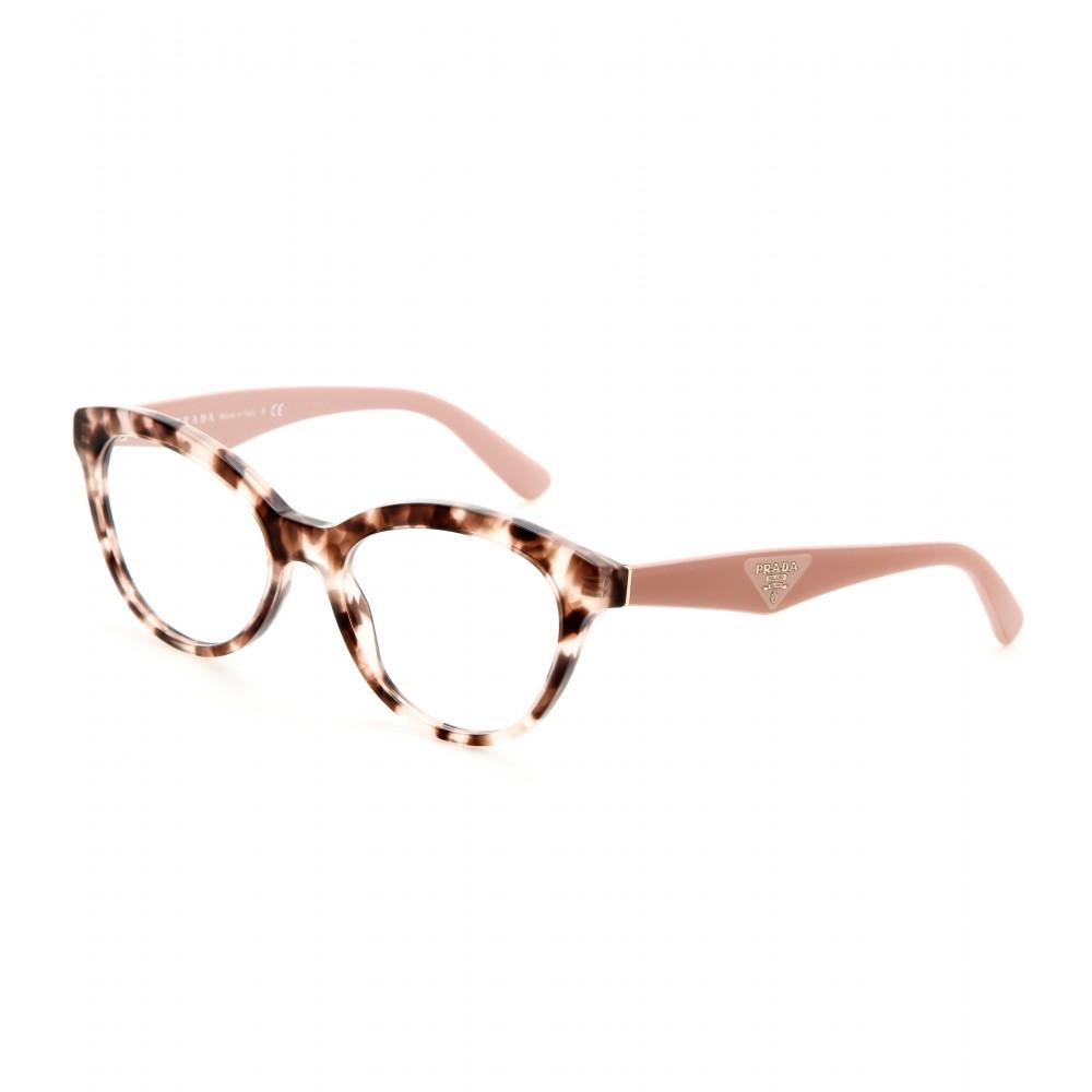 fe9a68c101 Lyst - Prada Cateye Optical Glasses in Pink