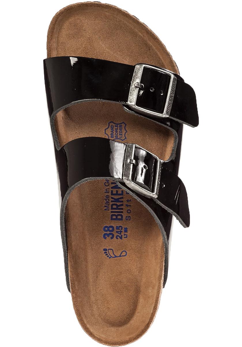 d509c0271d29 Lyst - Birkenstock Arizona Sandal Black Patent in Black