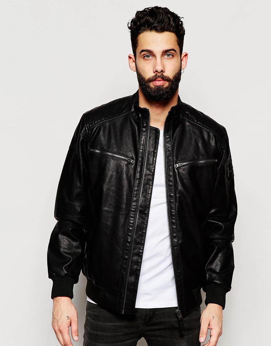 Wrangler leather jacket