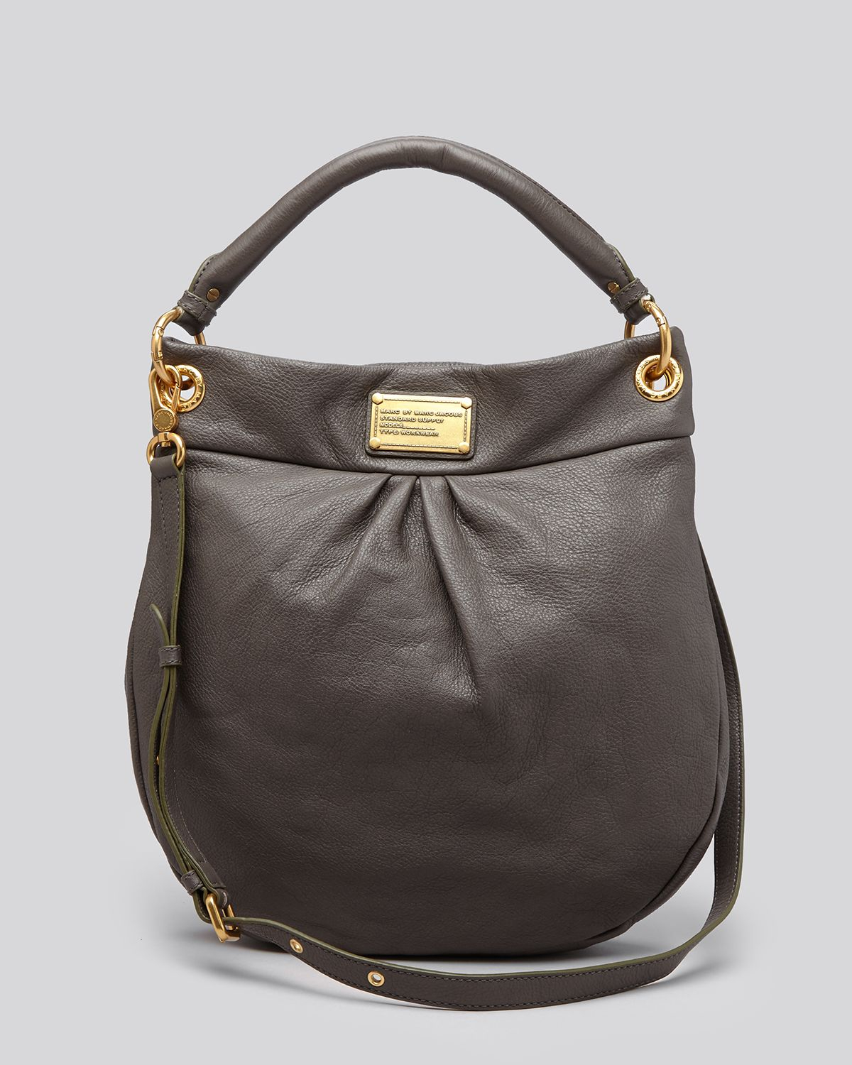 c719a384c1e Marc By Marc Jacobs Hobo - Classic Q Hillier in Gray - Lyst