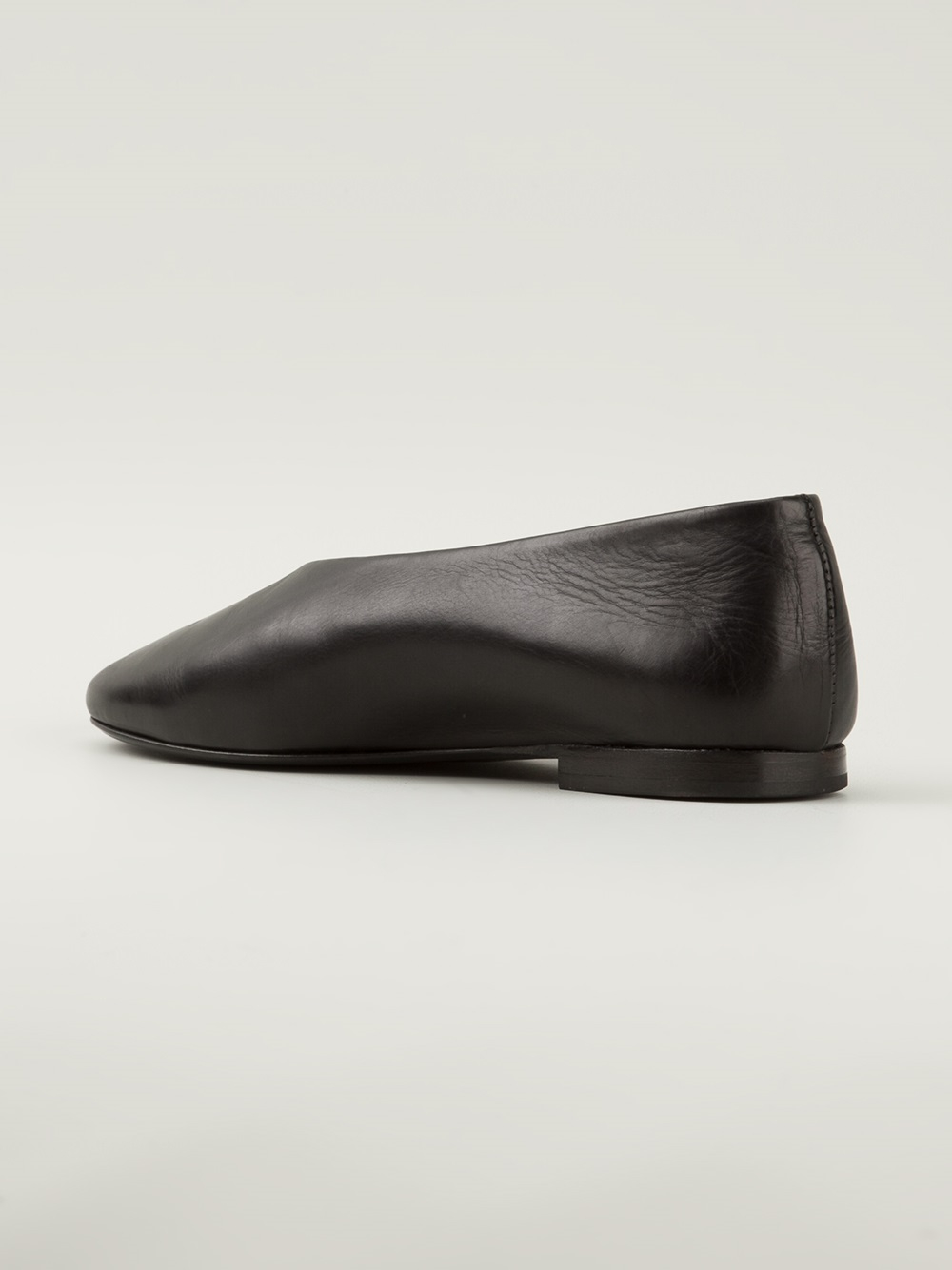 Lyst Christophe Lemaire Slipon Shoes In Black