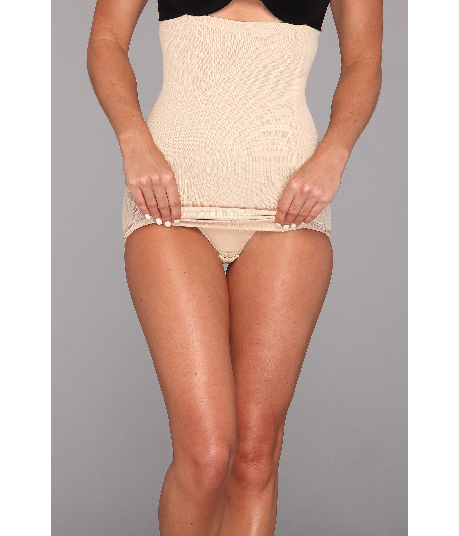 08c49a18fd Lyst - Miraclesuit Extra Firm Sexy Sheer Shaping Hi-waist Slip in Natural