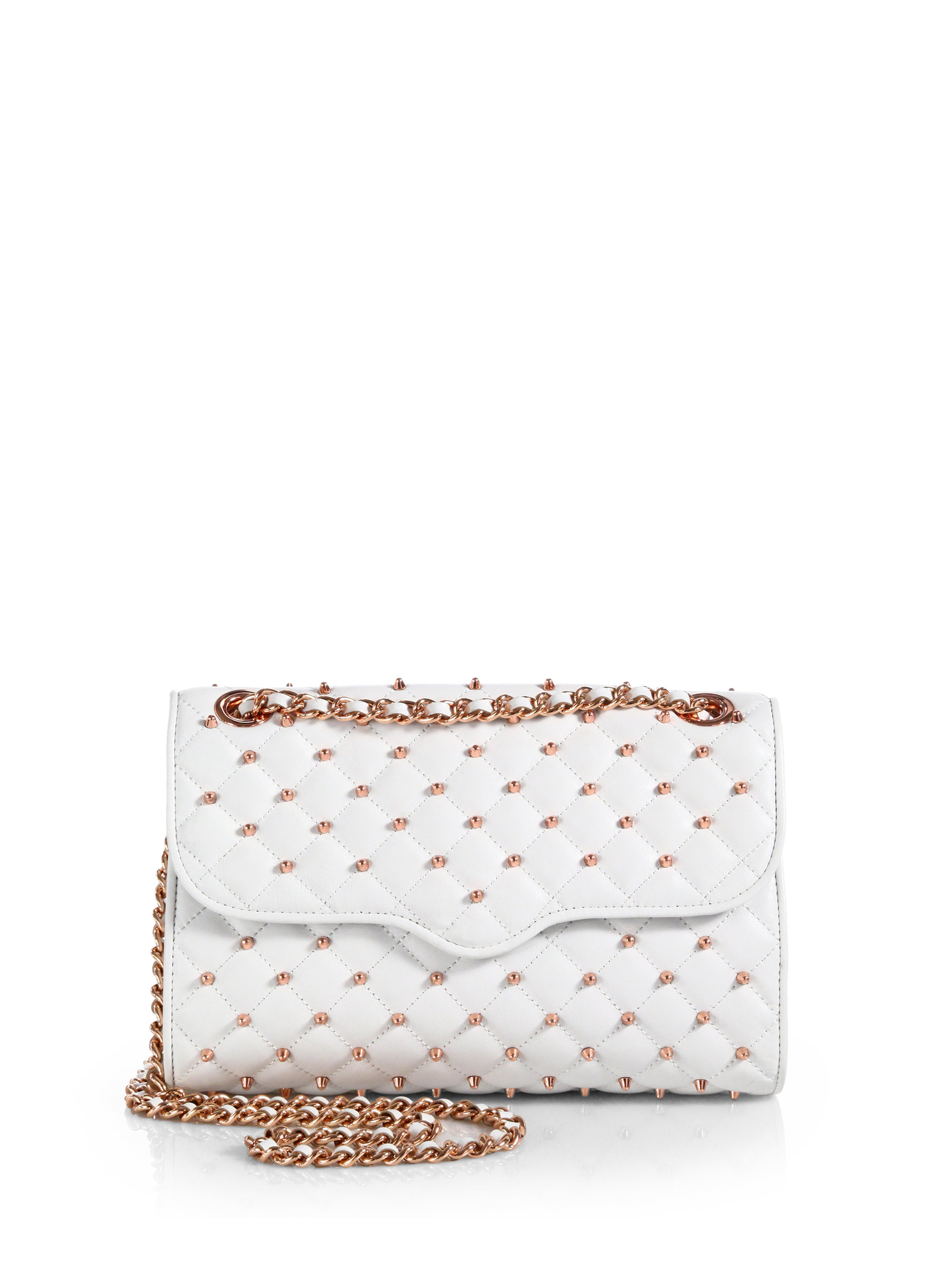 Rebecca Minkoff Affair Diamond Quilted Shoulder Bag In