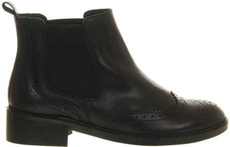 Brogue Boots Office Brogue Chelsea Ankle Boots
